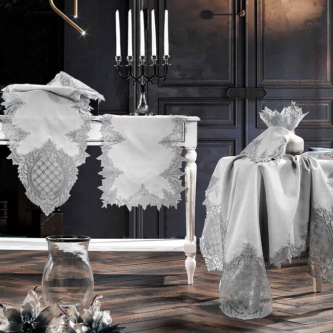 Zebra Casa - Baroque Salon Takımı Gri