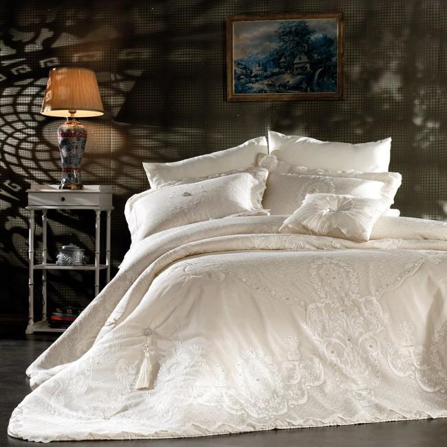 Zebra Casa - Santorini Yatak Örtüsü