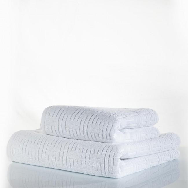 Zebra Casa - Terry Havlu 70*140 Havlu Beyaz